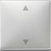Кнопка выключателя для системы жалюзи Merten Стальной (MTN584246)