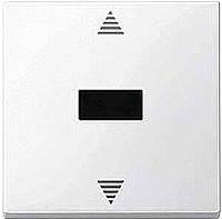 Кнопка выключения для жалюзи с ик-приемником Merten Белый (MTN588019)