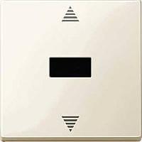 Кнопочный выключатель для жалюзи с ик и датчиком Merten Бежевый (MTN588044)