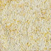 Жидкие обои № Ст 02 белый с желтым