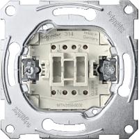 Механизм 1-полюсного кнопочного выключателя с самовозвратом Merten (MTN3156-0000)