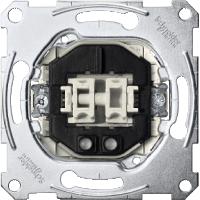 Механизм 2-кнопочного переключателя с подсветкой Merten (MTN3165-0000)
