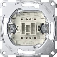 Механизм 2-полюсного 1-клавишного выключателя 16А Merten (MTN3612-0000)