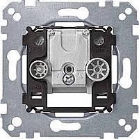 Механизм двопостной антенной розетки R/TV+SAT Merten (MTN299200)