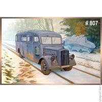Модель Roden Opel Blitz 3.6-47 Omnibus W39 Ludewig (RN807)