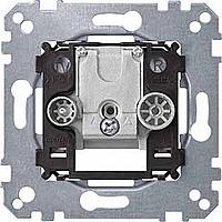 Механизм проходной розетки TV+FM Merten (MTN299204)