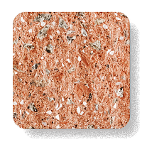 Блок Рустик 300-250-150 оранжин