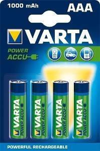 4шт аккумулятор R03 Varta AAA 1000 professional, фото 2