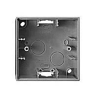 Монтажная коробка 1-постовая Merten System-M Антрацит (MTN524114)