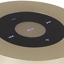 Колонка BL Keling A8 золото Bluetooth AUX кнопки навигации портативный смартфона музыка металлическая android, фото 2