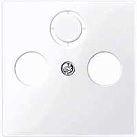 Накладка антенной розетки Merten Активно-Белый (MTN296725)