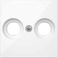 Накладка антенной розетки Merten Активно-Белый (MTN4122-0325)