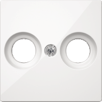 Накладка антенной розетки Merten Полярно-Белый (MTN4122-0319)
