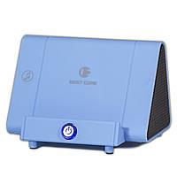 Best Core SY-317A колонка-подставка синяя для телефона смартфона индукционный динамик мощный звук портативная