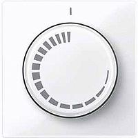 Накладка выключателя с регулятором частоты вращения Merten Активно-Белый (MTN567625)