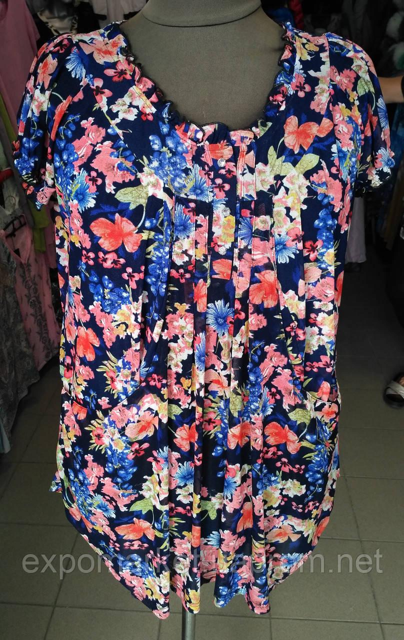 Женская блуза летняя больших размеров
