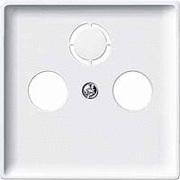 Накладка для антенной розетки Merten Белый (MTN294119)