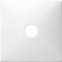 Накладка для антенной розетки однопостовая Merten Полярно Белый (MTN298719)