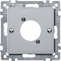 Накладка для аудио-штекера XLR Merten Алюминий (MTN468960)