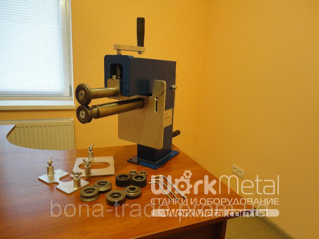 Оборудование для металлоцентров отбортовочный станок с ручным приводом