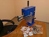 Оборудование для металлоцентров отбортовочный станок с ручным приводом, фото 6