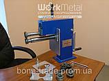 Оборудование для металлоцентров отбортовочный станок с ручным приводом, фото 2