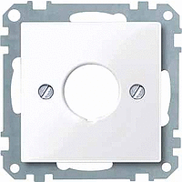 Накладка для командных приборов Merten Активно-Белый (MTN393825)