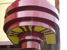 Обшивки колонн из алюминия, оцинкованной и нержавеющей стали,Киев, фото 2