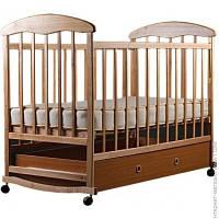 Детская Кровать Наталка Ольха с ящиком, светлая