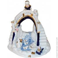 Декоративная Статуэтка Lefard Девочка с собачкой на мосту (98-814)