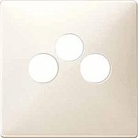 Накладка механизма антенной розетки трехпостной Merten (MTN299144)