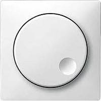 Накладка поворотного выключателя до 1000 ВА Merten Полярно-Белый (MTN571719)