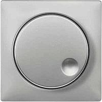 Накладка поворотного выключателя до 600 ВА Merten Сталь (MTN572046)