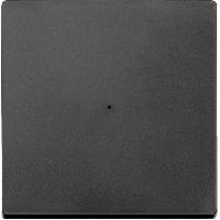 Радио-выключатель 2-канальный 1-клавишный Merten Антрацит (MTN505114)