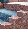 Ступенька Рустик 750-500-150 графит, фото 3