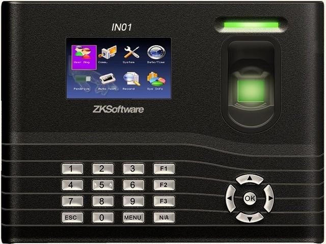 Система учета рабочего времени IN01 (отпечаток пальца + карта/брелок EM-Marin 125 kHz)