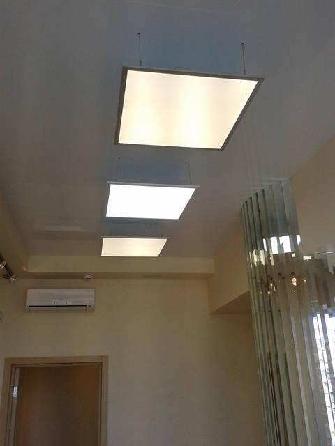 Освещение бизнес центра 1