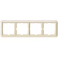 Рамка 4-постовая Merten ANTIK Бежевый (MTN483444)