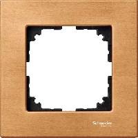 Рамка деревянная 1-постовая Merten M-Elegance Бук (MTN4051-3470)