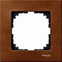 Рамка деревянная 1-постовая Merten M-Elegance Вишня (MTN4051-3472)