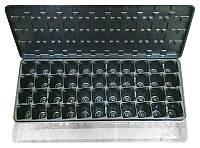 Парник- кассета для рассады с поддоном и крышкой, 44 ячейки