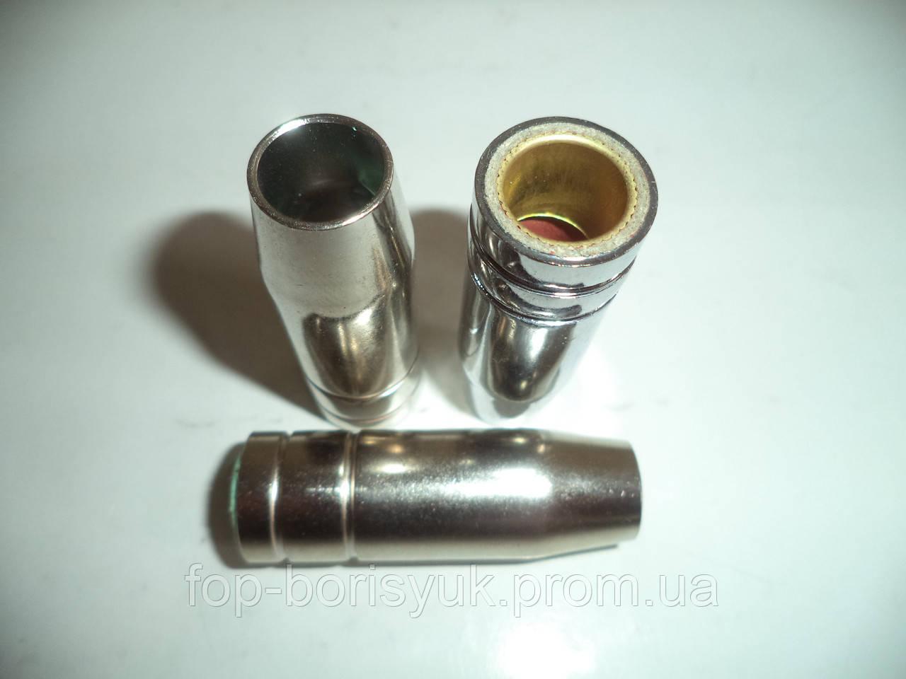 Газовое сопло никелированное без резьбы