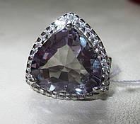 """Шикарный перстень с александритом и сапфирами """"Сердце океана"""", размер 16.1 от студии LadyStyle.Biz, фото 1"""