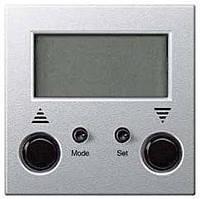 Стандартный таймер для жалюзи Merten System-M Алюминий (MTN581960)