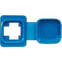 Фланец влагозащитный SPLASH REICHLE&DE-MASSARI Merten Синий (MTN465591)