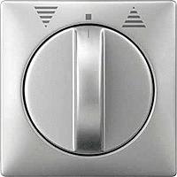 Центральная плата выключателя управления жалюзи поворотного Merten Сталь (MTN319246)