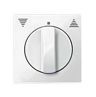 Центральная плата для кнопочных выключателей с фиксатором Merten System-M Активно-белый (MTN567125)