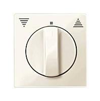 Центральная плата для кнопочных выключателей с фиксатором Merten System-M Бежевый (MTN567144)
