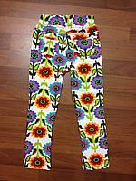 Детская одежда оптом Леггинсы с карманами для девочек оптом р.4-8лет, фото 1