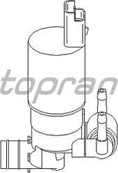 Насос бачка омивача (з заднім омивачем) на Renault Trafic 2001-> — Topran (Німеччина) - HP720299
